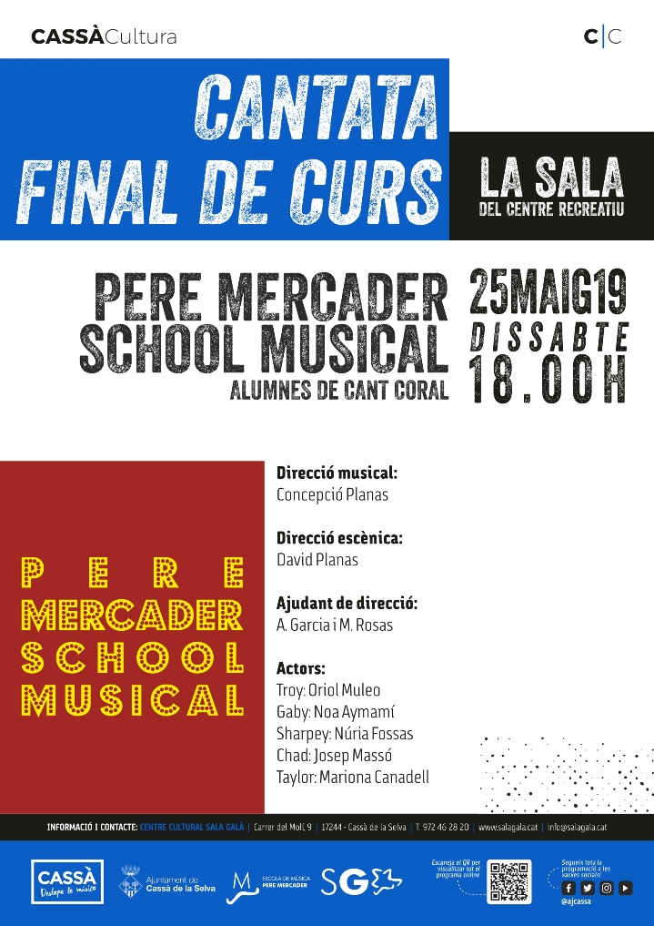 PERE MERCADER SCHOOL MUSICAL